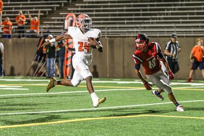 North senior running back Lamar Lucas