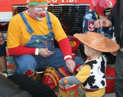 Trick-or-Treat: residents learn holiday safety tips at Frisco Fire Safety Town