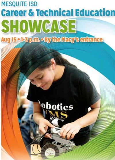 Mesquite ISD's CTE program showcase