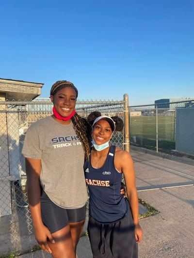SACHSE TRACK AND FIELD FAVOR ANYANWU AND NYA BROWN