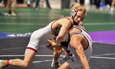2021 Texas UIL State 6A Boys 120 Championship Finals. #1 Braxton Brown (Allen) 21-0, Sr. over #2 Micah White (Humble Kingwood) 27-1, Sr. (Fall 0:50)