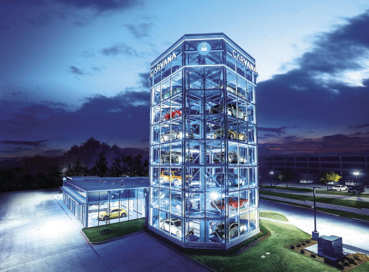 Frisco Home To Carvana S Newest Car Vending Machine