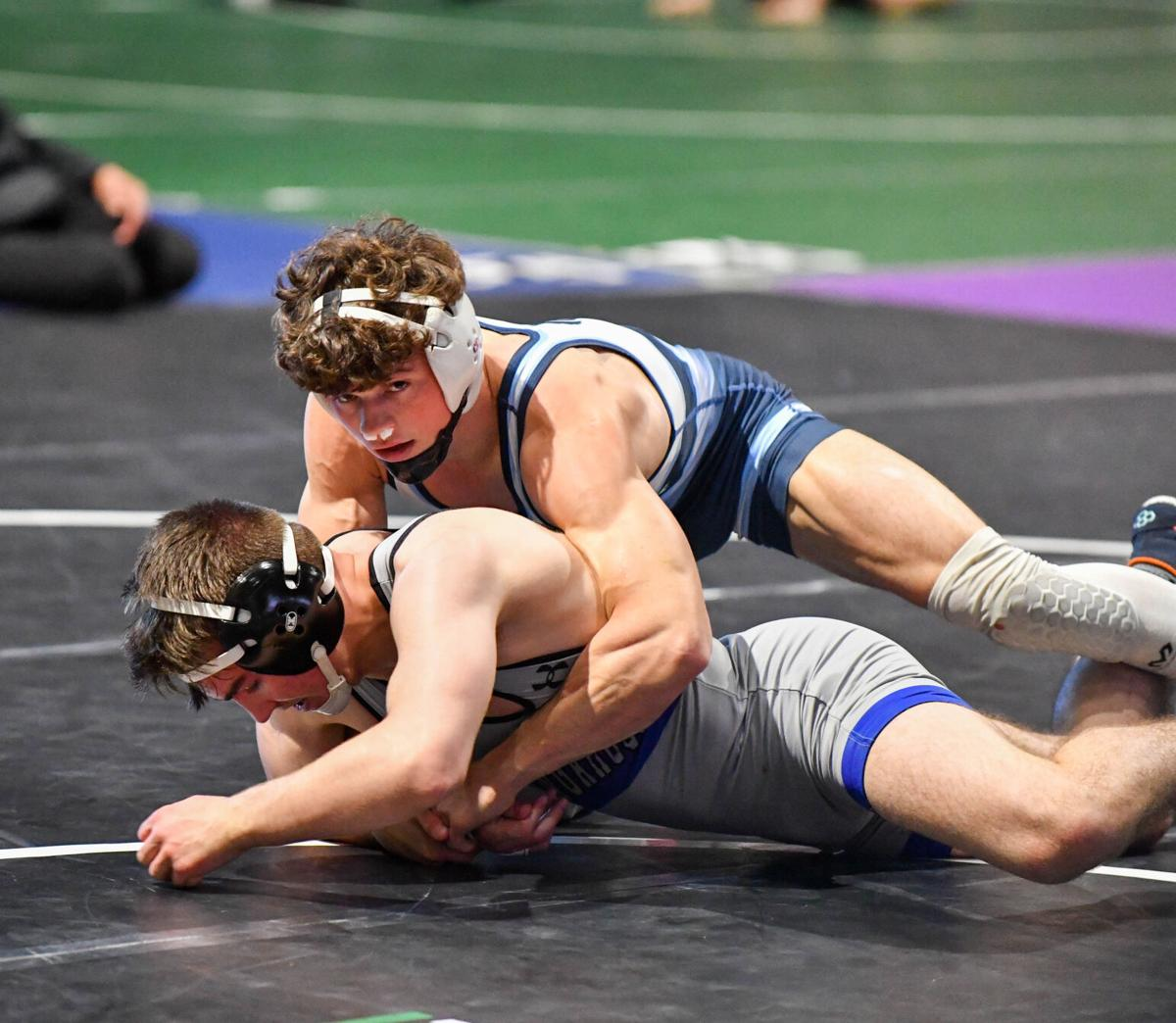 2021 Texas UIL State 6A Boys 138 Championship Finals.  #1 Tagen Jamison (Plano West) 12-0, Sr. over #5 Mason Woodward (Weatherford) 26-3, Sr. (MD 14-5)
