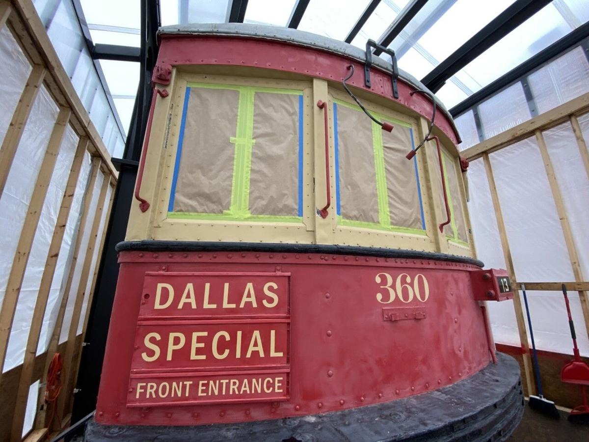 Restoration for Plano historic landmark Car 360 expected to be complete next month