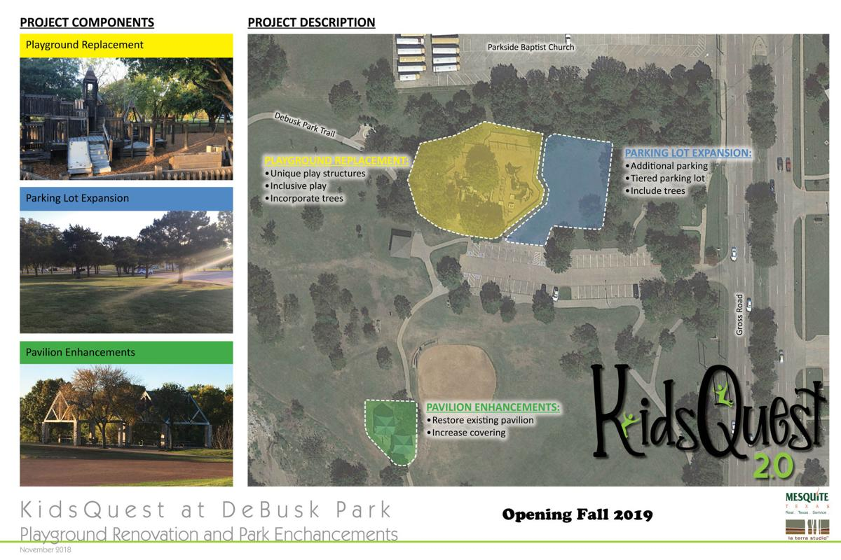 Opening celebration for the new KidsQuest playground will be Dec. 14