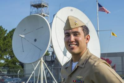 Mesquite Native serves at weather center supporting world's largest naval fleet