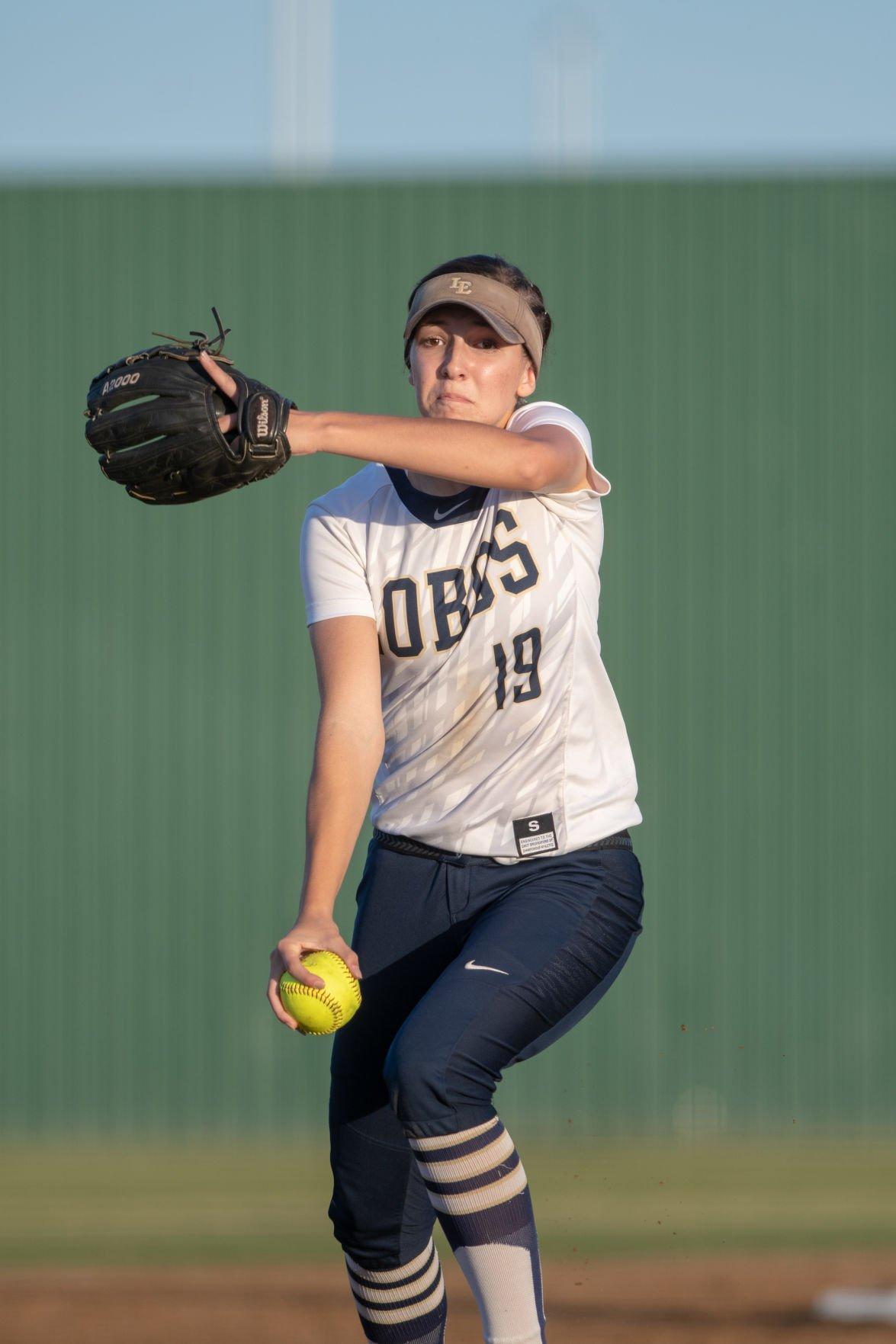 Little Elm pitcher Lauren Lucas