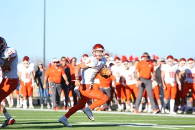 Celina senior wide receiver Noah Ross