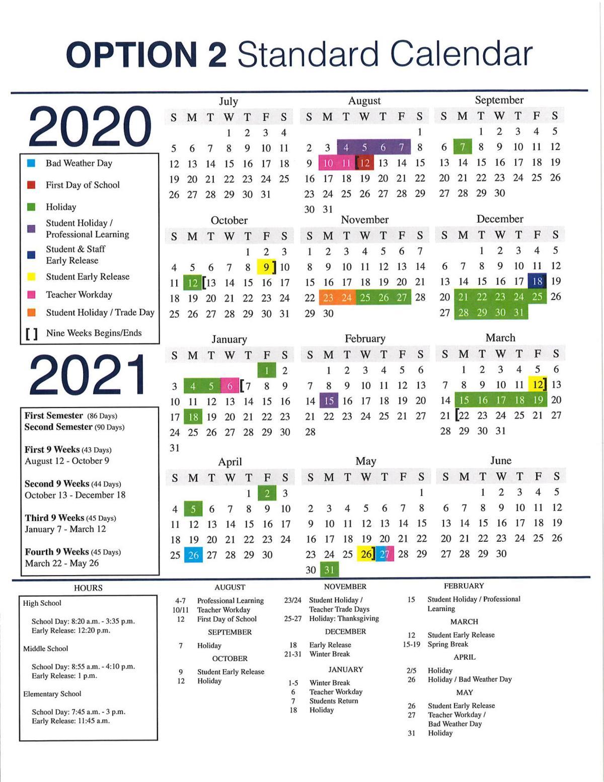 Lisd School Calendar 2021 Here's when LISD students will be in school next year | News