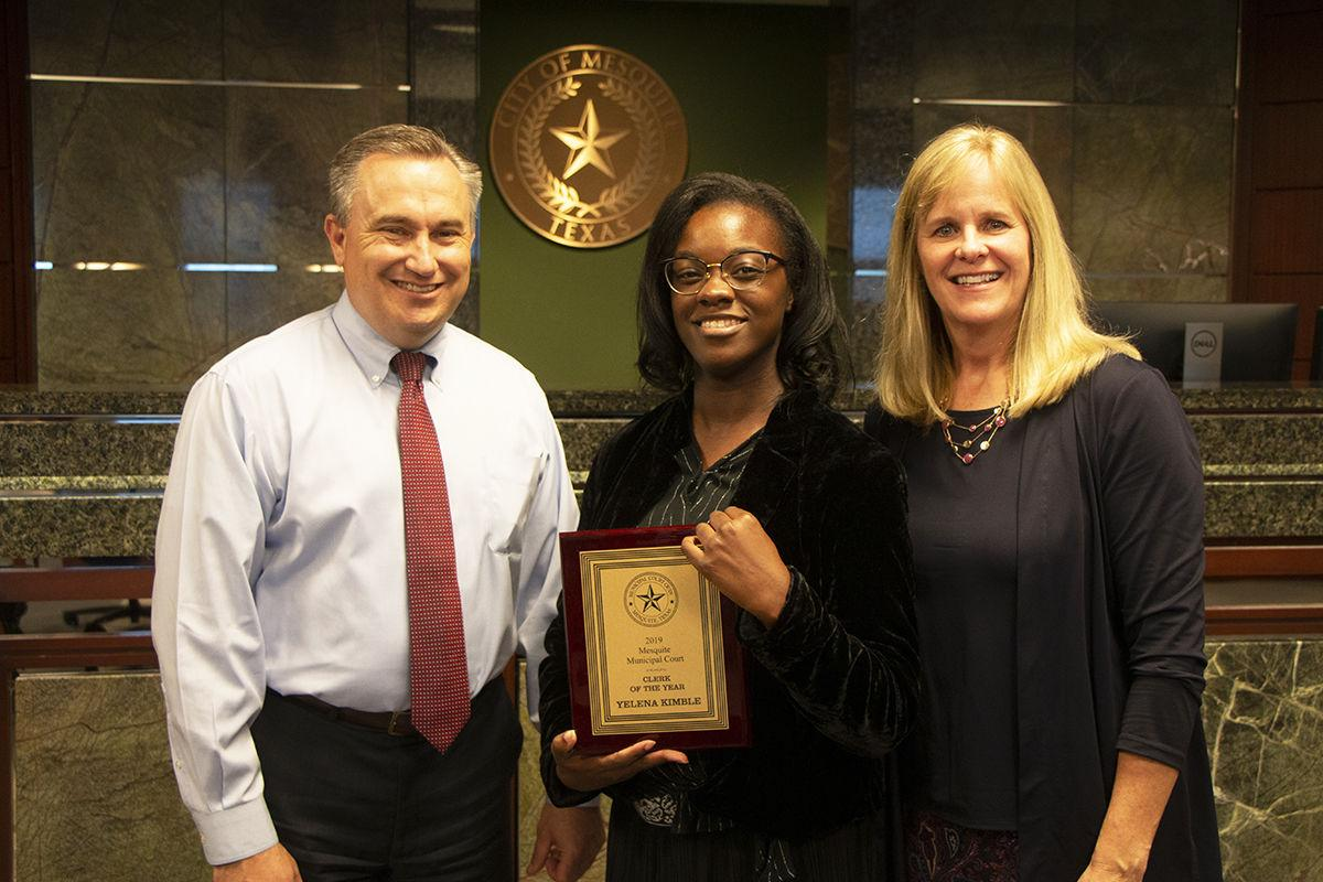 Mesquite announces Court Clerk and Deputy Marshal of the Year Recipients