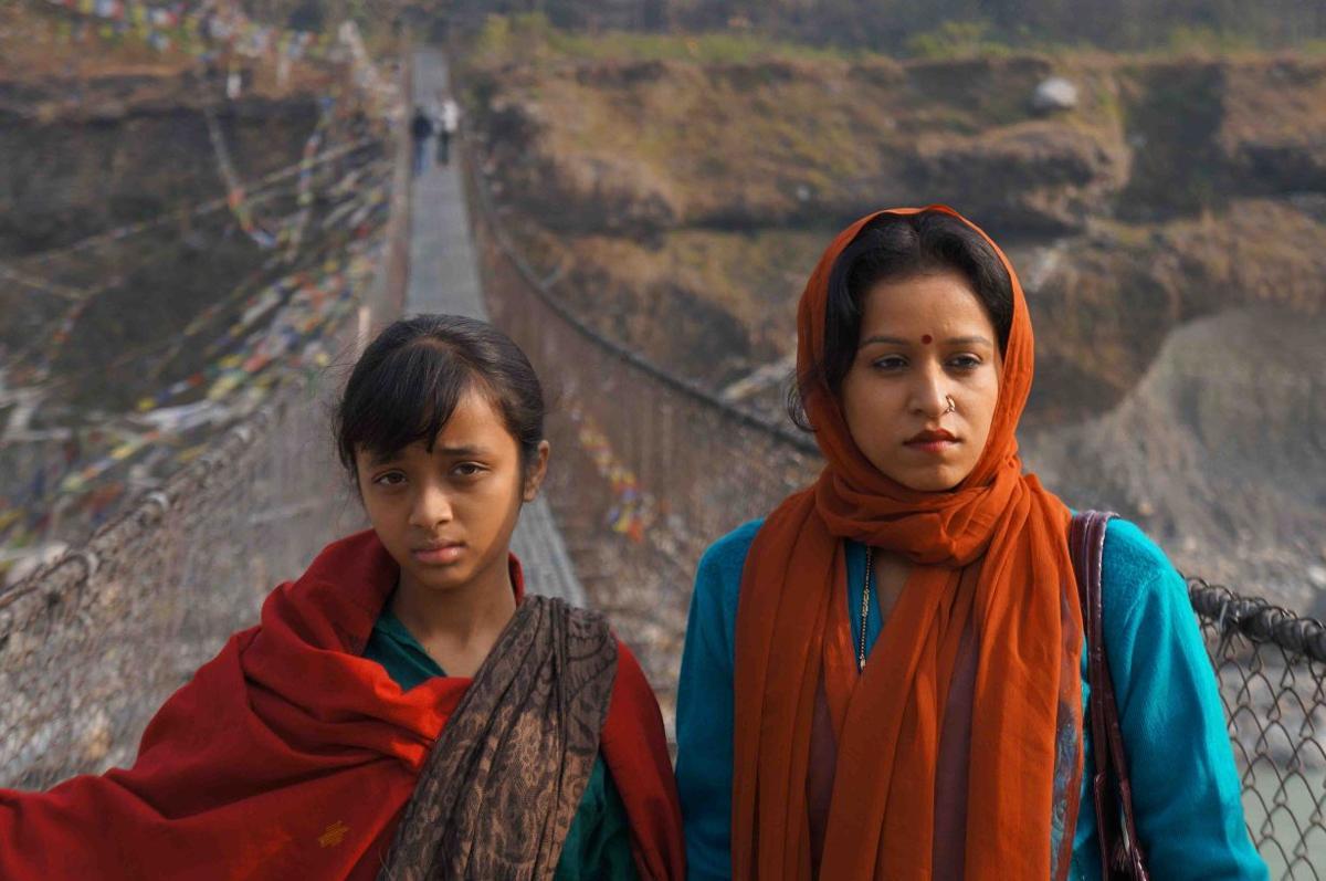 SAFF Lakshmi on the bridge