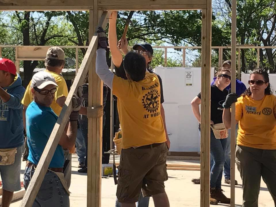 Denton County Rotary Clubs raising money for residents impacted by COVID-1