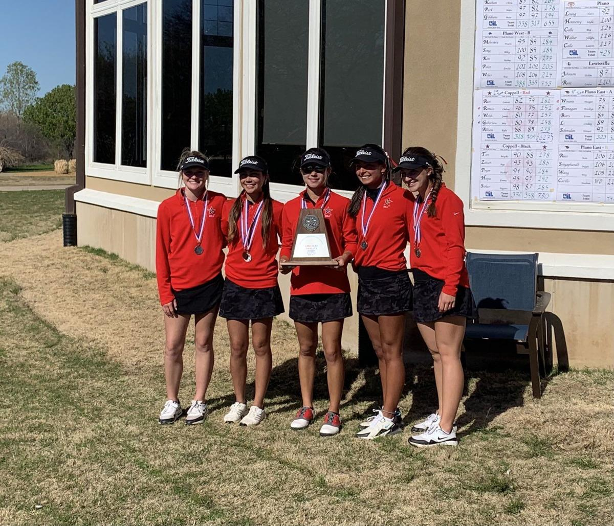 Coppell girls golf