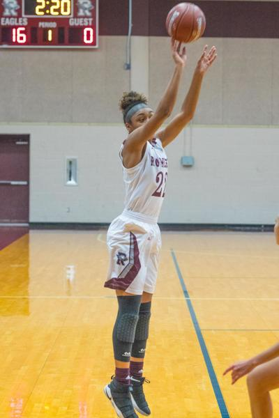 ROWLETT GIRLS BASKETBALL NEVAEH ZAVALA