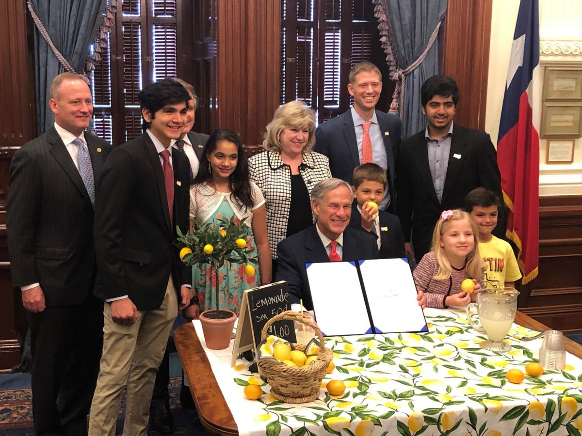 Nelson's lemonade stand bill signed into law