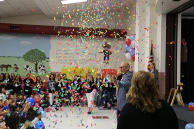 Garland ISD students honor campus staff in celebration