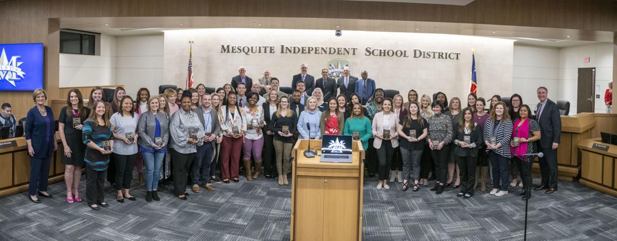Mesquite Isd Names 2020 District Teachers Of The Year News Starlocalmedia Com