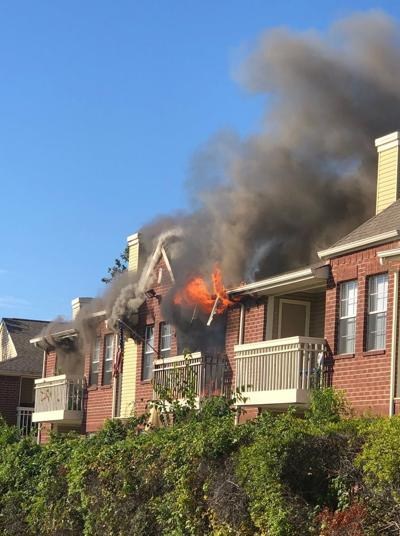 Plano apartment fire