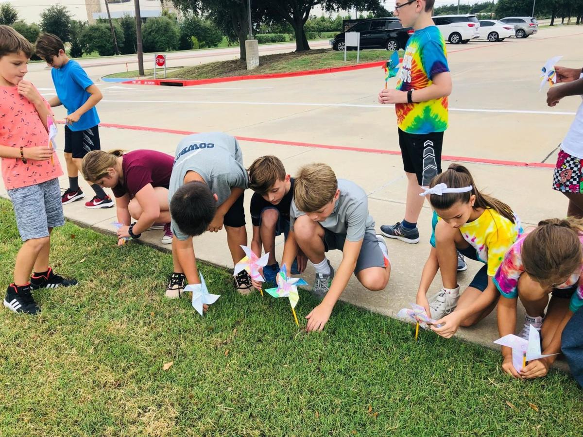 Whirled Peace at Bluebonnet Elementary