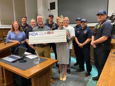 Rowlett Firefighter Association, fire department donates over $35K