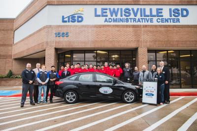 Five Star Ford In Lewisville >> Lewisville Ford dealership donates vehicle to LISD students | News | starlocalmedia.com