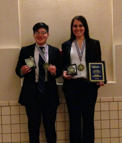 Mesquite ISD HOSA students take firsts