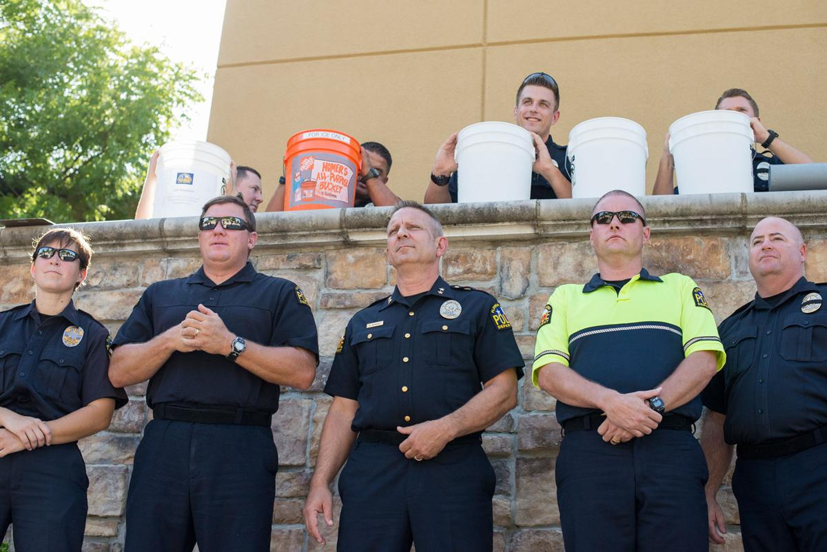 Flower Mound PD accepts the ice bucket challenge   The Leader   starlocalmedia.com