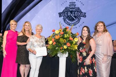 Local ZTA alumnae receive prestigious Nan Barkley Boettcher Award
