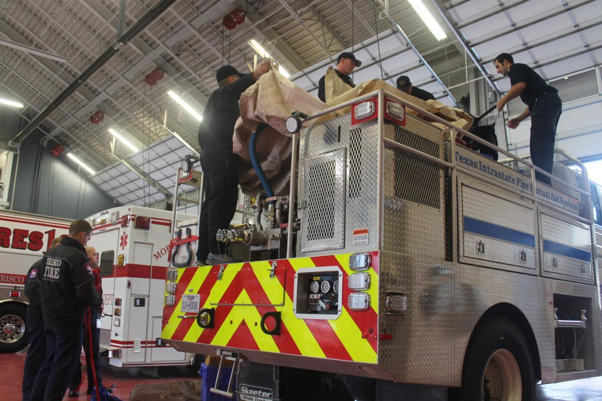 Collin County firefighters dispatch to fight California forest fires