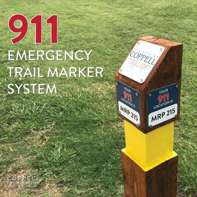 Coppell emergency markers