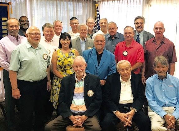 Mesquite Rotary inducts new officers, celebrates their 60th anniversary