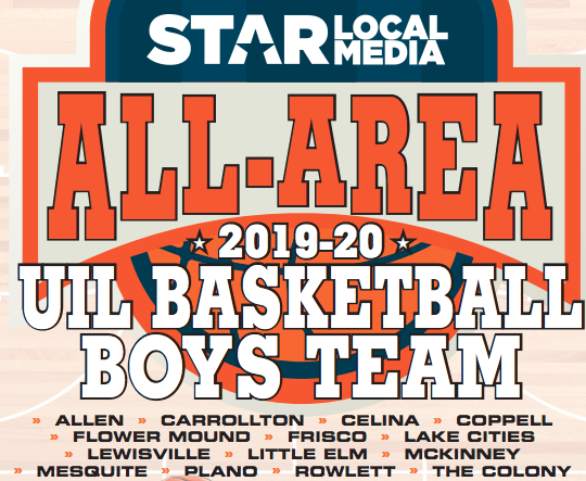 2019-20 Star Local Media All-Area Boys Basketball Team