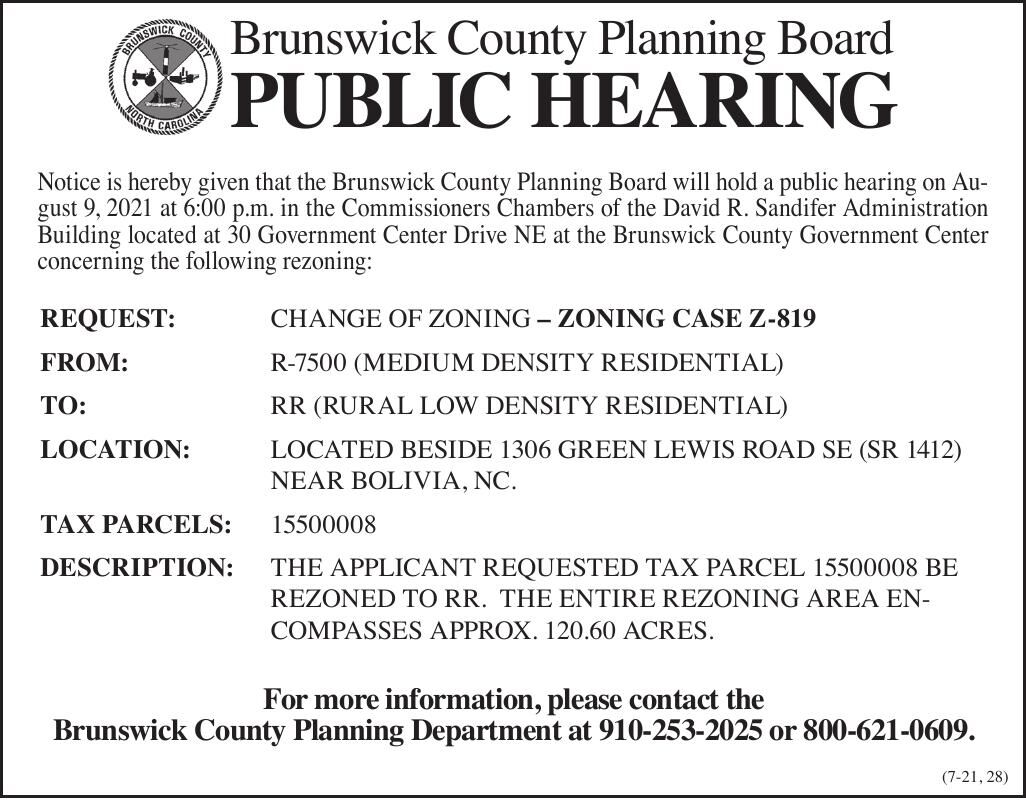 Brunswick County Planning Board