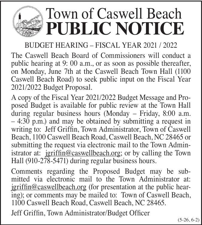 Town of Caswell Beach
