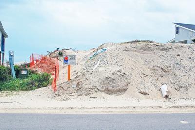 Oak Island beach access