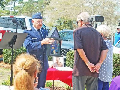 Civil Air Patrol ceremony for Robert Miller Jr.