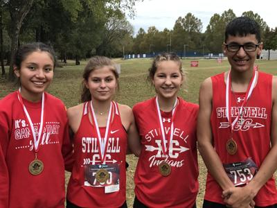 Stilwell Lady Indians place 2nd at Cross Country meet; boys led by Keen