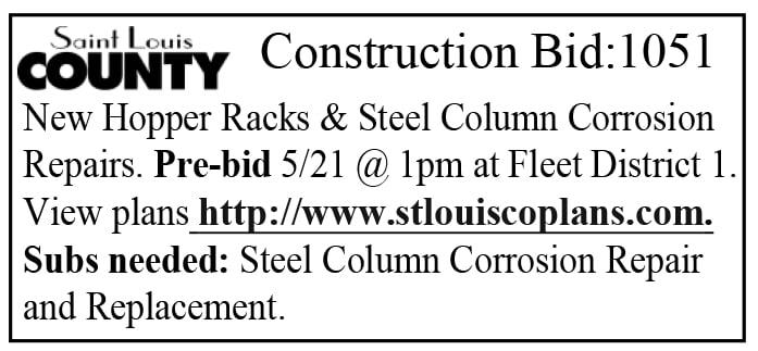 Saint Louis County Construction Bid: 1051