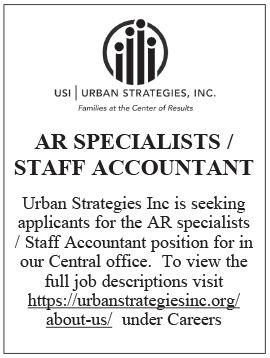 AR Specialists / Staff Accountant