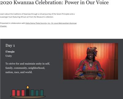 St. Louis Art Museum Kwanzaa Celebration
