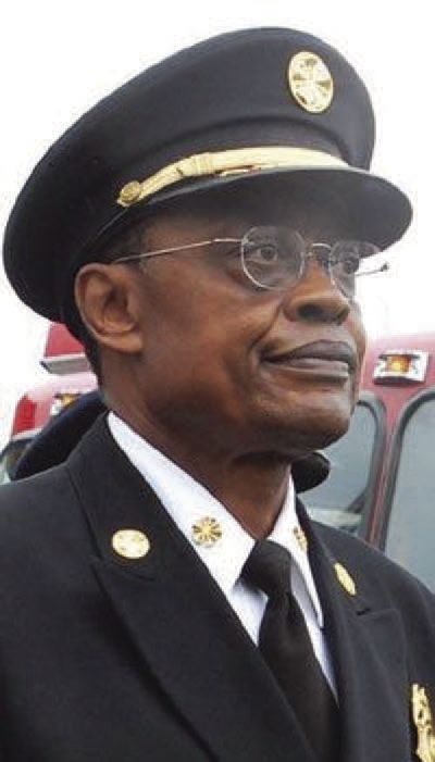 Fire Chief Sherman George