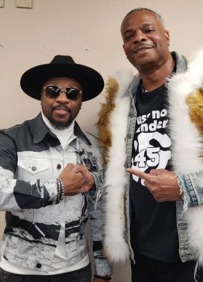 Anthony Hamilton and DJ Kut