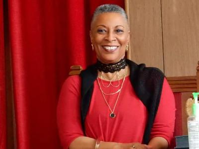 Rev. Beverly M. Stith, pastor of Rock Chapel AME Church in St. Louis