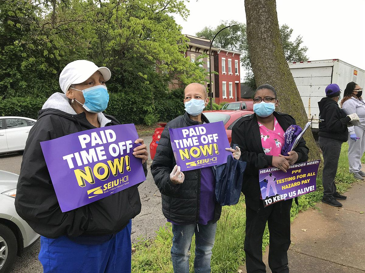 SEIU Healthcare workers