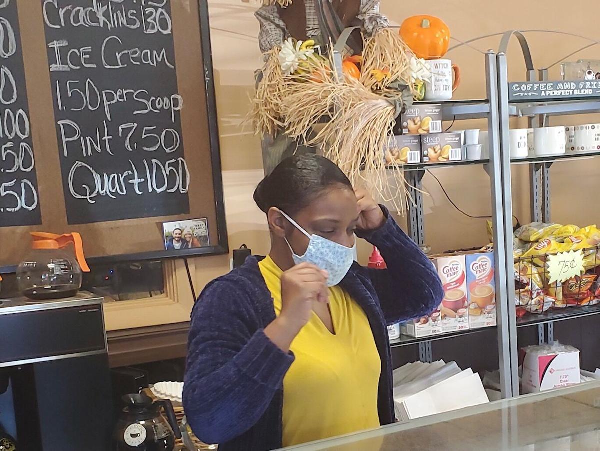 Gina Jackson at Billie's Pastries