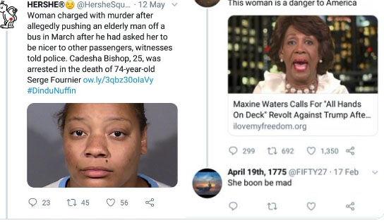 Racist tweets