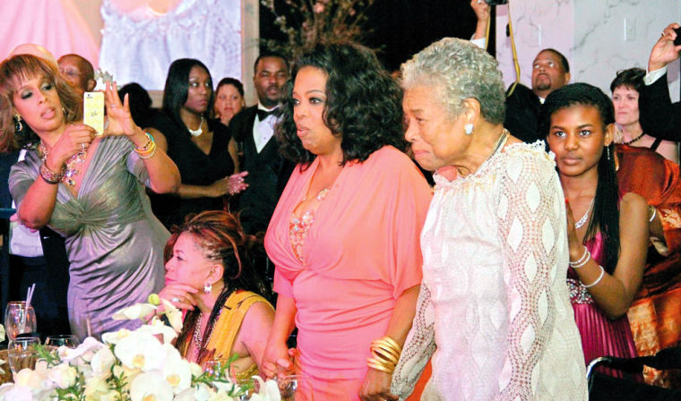 locals attend oprah s bash as maya angelou turns 85 living it