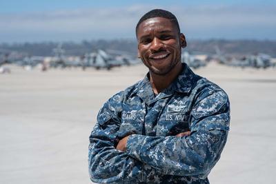 Petty Officer 3rd Class Sean Adams