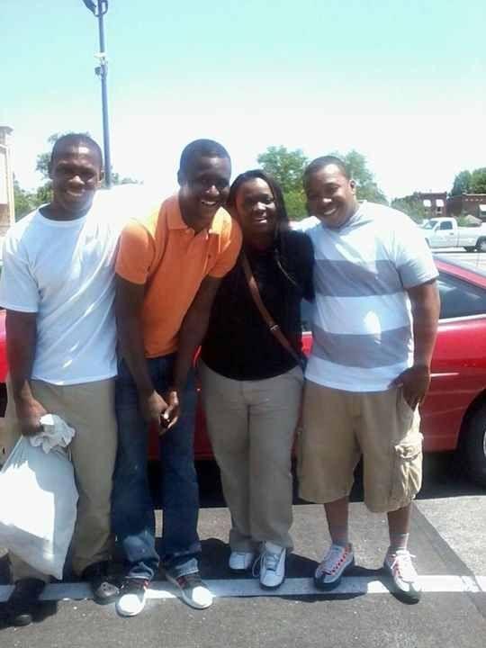 Cary Ball, Jr. and siblings