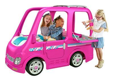 Children's Power Wheels Barbie Camper by Fisher-Price